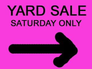 Yard Sale (Saturday June 10th 08:00/1:00)