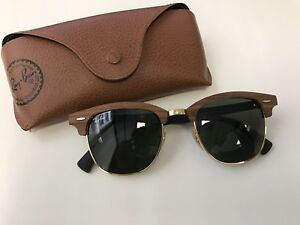 Ray Ban clubmasters sunglasses - wood Brisbane City Brisbane North West Preview