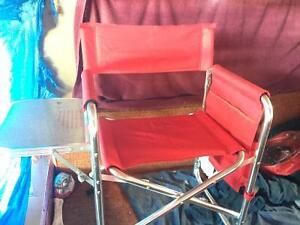 Picnic Time Folding Camp Chair with Table Hinton, AB