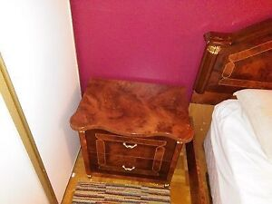 Bedside dresser night table, pair