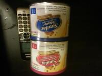 2-227g cans of never opened powered similac advanced