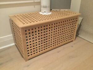 Wooden Ikea storage chest Rose Bay Eastern Suburbs Preview