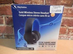 Casque Wireless Officiel PS4 (i003268)