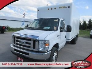 2013 Ford E350 WORK READY 1-TON SUPER DUTY 2 PASSENGER CARGO MOV