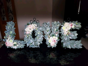 Flower LOVE letter sign HIRE Humbug Scrub Playford Area Preview