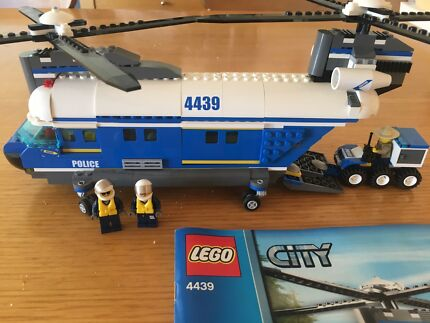 LEGO City Police Heavy-Lift Helicopter   Toys - Indoor   Gumtree ...