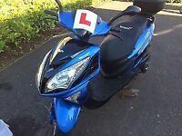(2016 Lexmoto Fms 125cc £750 )
