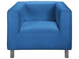 Moda Fabric Chair - Marina Blue