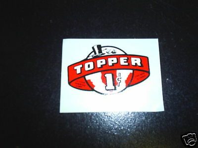 Real Victor Model TOPPER 1 cent Decal(water decal)#152
