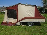 Conway trailer tent 4 berth