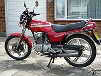 Honda CB125TD-E CB 125 CB125 Project