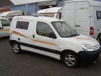 Micro Camper Van Citroen Berlingo 2003 1.9 Diesel £3000 ono
