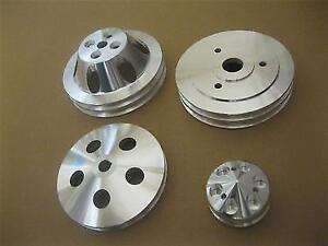 454 Chevy Big Block Pulleys and Brackets