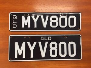 MY V8 personalised number plates Coorparoo Brisbane South East Preview