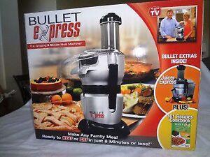 Bullet Express Trio Meal Maker - juicer, processor, blender