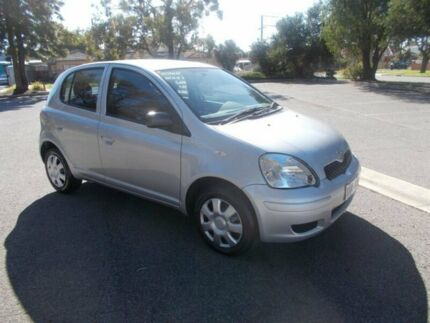 2004 Toyota Echo NCP10R Silver Metallic 4 Speed Automatic Hatchback Alberton Port Adelaide Area Preview