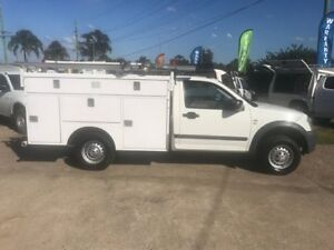 2006 Holden Rodeo RA MY06 Upgrade LX White 4 Speed Automatic Cab Chassis