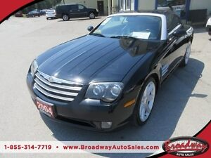 2004 Chrysler Crossfire POWER EQUIPPED TWO DOOR - COUPE 2 PASSEN