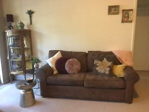 Comfy sofa. Stain resistant. Velvet feel. Must go this weekend! Wahroonga Ku-ring-gai Area Preview