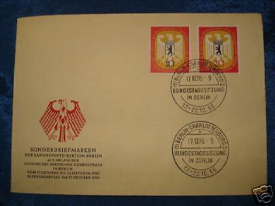 Berlin FDC Mi-Nr. 129/30 Ersttagsbrief 24,-- EUR