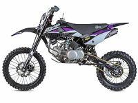Brand New Stomp Z3 160 Pit Bike Big Wheel For Sale