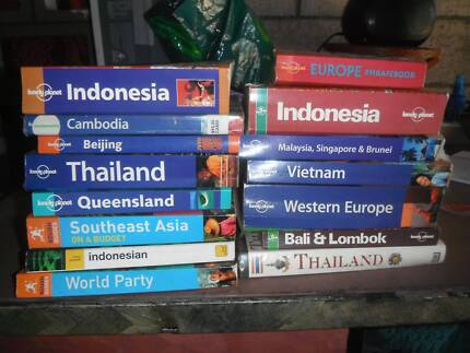 lonely travel guide books