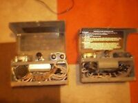 Two full 1942 WWII British Military Army Field Telephone Phone Tele.Set. D Mk.V