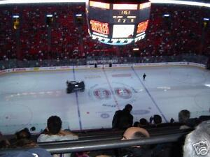 2 Tickets Billets Canadiens Montreal Vancouver Canucks Nov 2