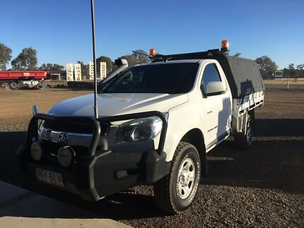 2012 Holden Colorado 4x4 Single Cab Ute