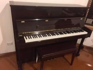 Beale Mahogany Upright Piano Taringa Brisbane South West Preview