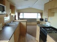 Lovely family owned 2 bed caravan for holiday let