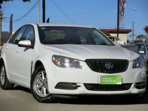 2014 Holden Commodore VF MY14 Evoke Heron White 6 Speed Sports Automatic Sedan Condell Park Bankstown Area Preview