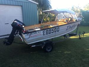 Stacer 4.0 runabout as new 30hp mercury Torquay Fraser Coast Preview