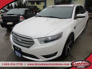 2014 Ford Taurus LOADED SEL EDITION 5 PASSENGER 3.5L - V6.. LEAT