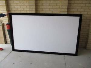 FRAMED PROJECTOR SCREEN Mindarie Wanneroo Area Preview