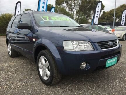 2008 Ford Territory SY TS Blue 4 Speed Sports Automatic Wagon