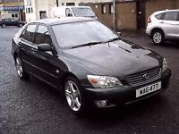 2001 X Lexus IS 200 2.0 SE ** ONLY 30000 MILES ** 6 SPEED GEARBOX **