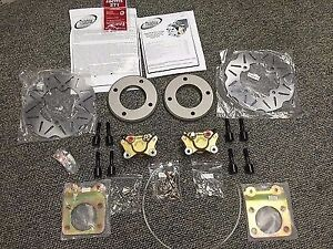 QUADRAX HONDA FRONT ATV DISC BRAKE CONVERSION KIT TRX300 4x4 FOURTRAX 1992-2000