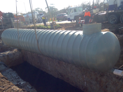 Fibreglass Tank Water/Sewer/Stormwter Tank Inground