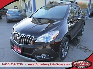 2014 Buick Encore LOADED ALL-WHEEL DRIVE 5 PASSENGER 1.4L - TURB