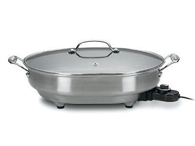 What Is The Best Stainless Steel Electric Skillet Ebay