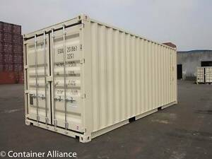 New Shipping Containers landed in Ipswich for 2956 ex GST. Ipswich Ipswich City Preview