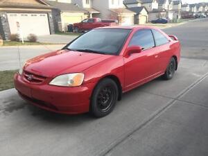 2002 Honda Civic Si Coupe. NEED GONE ASAP!!!
