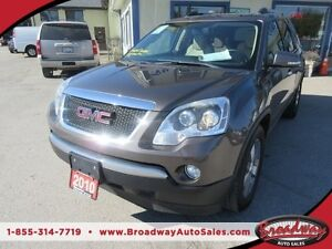 2010 GMC Acadia LOADED SLT EDITION 7 PASSENGER AWD.. 3.6L - V6 E