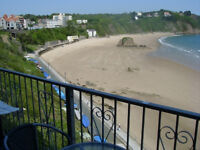 LAST MINUTE BOOKING REDUCED PRICE holiday flat Tenby Wales sleeps 6 sea view 1 week 10/17 Sept 2016