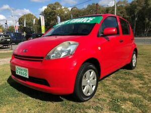 2005 Daihatsu Sirion M300 SX Red 5 Speed Manual Hatchback Clontarf Redcliffe Area Preview
