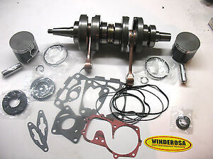 Snowmobile Pistons, Gasket Kits, Crankshafts, and Cylinders!