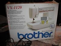 Brother VX1120 sewing machine.