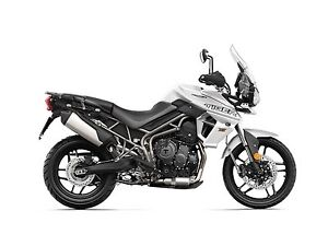 2018 Triumph Tiger 800 XRT Crystal White