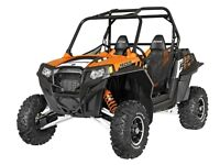 2014 Polaris RZR 900 EPS Orange Madness LE